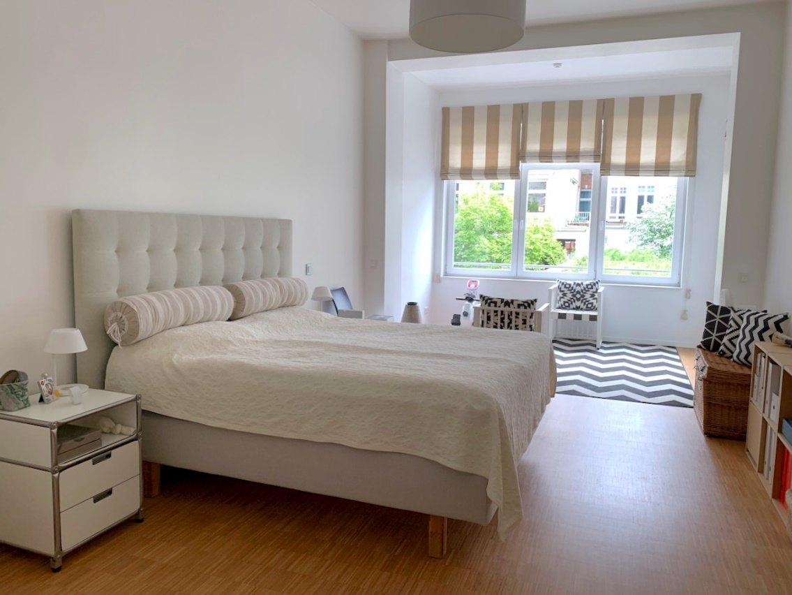 Schlafzimmer-Wohnbeispiel